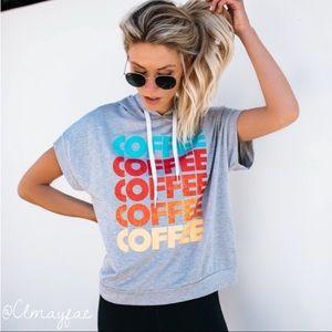 Tops - COFFEE Hoodie ☕️
